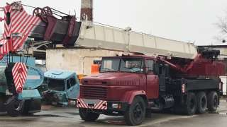 Продаем автокран МКАТ-40 TG-500 ERG, 40 тонн, 1989 г.в. title=