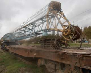 Продаем железнодорожный кран EDK 300/2 Takraf, 60 тонн, 1989 г.п.  title=