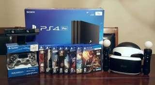 PLAYSTATION 4 PS4 PRO 1TB CONSOLE - VR - AURICULAR DE REALIDAD VIRTUAL title=
