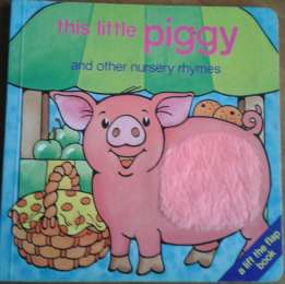 this little piggy and other nursery rhymes Интерактивный английский
