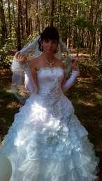 Свадебное платье  title=