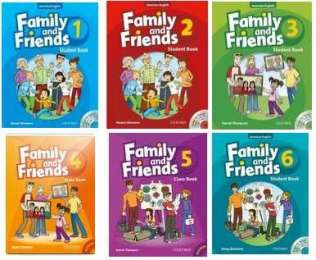 Family and Friends 1-6, 1st edition and 2nd edition title=