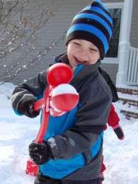 Снежколеп - игрушка для снега, лепить снежки