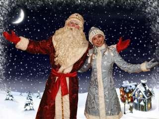 Дед Мороз и Снегурочка  на дом. title=