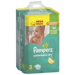 Подгузники Pampers Active Baby 3,4,4+,5 title=