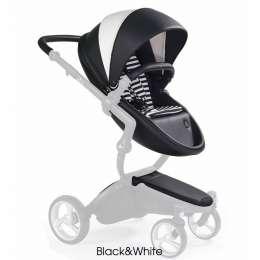 Базовый + стартовый набор для коляски Xari Black&White Mima 12113651 title=