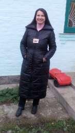 Довге тепле чорне пальто(р.48-50)/длинное теплое черное пальто  title=