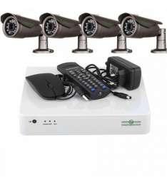 Комплект Відеоспостереження Green Vision GV-K-L11/04 720P title=