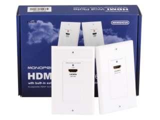 Настенная HDMI розетка-удлинитель
