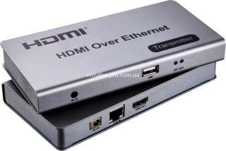 Удлинитель KVM HDMI / USB по витой паре
