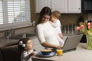 Работа удаленно для ответственных людей, Работа в декрете на дому, Тре title=