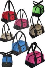 Лёгкая, удобная женская спортивная сумка в спортивном форм-факторе