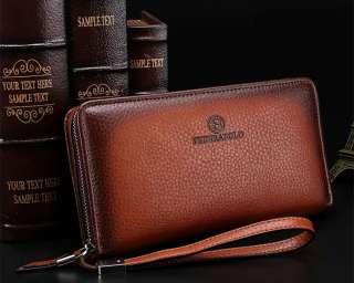 Мужской стильный клатч портмоне барсетка Fedikabolo (PU кожа) title=
