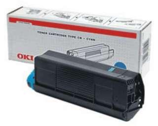Тонер картридж OKI C3200 Cyan OKI чёрный