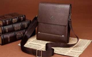 Мужская стильная кожаная бизнес сумка мессенджер Feidikabolo title=
