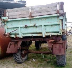 Продаем колесный прицеп-самосвал 2ПТС-5 с лафетом, 1985 г.в. title=
