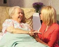 Приходящая  сиделка для престарелых и больных.