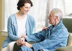 Патронажные  услуги на дому для пожилого человека