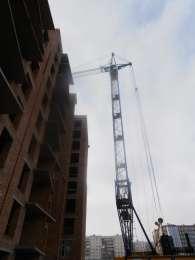 Предоставляем услуги башенного крана КБ-408, 10 тонн, 1991 г.в. title=
