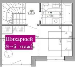 Таунхаус 74 кв.м, 1 км від Києва title=