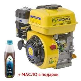 Двигатель бензиновый Sadko GE-200 PRO(фильтр в масл.)  title=