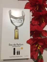 Парфюмированная вода Lacoste Femme Woman 3х15 мл. title=