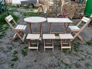 стол раскладной со стульями title=