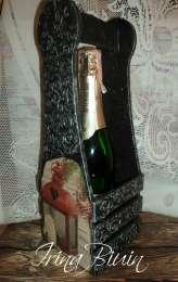 Подарочный короб для вина, шампанского title=