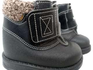 Детские зимние ботиночки на липучке_зимові ботінки title=