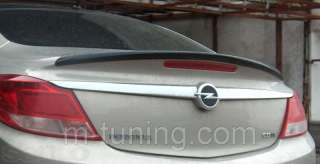 Спойлер сабля тюнинг накладка багажника Opel Insignia Опель Инсигния