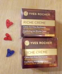 Набор кремов для лица питание и восстановление день+ночь Riche Ив Роше