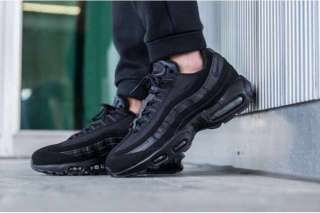 Кроссовки Nike Air Max 95 black. title=