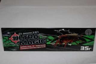 Шприц-гель Ультра Магик для уничтожения насекомых-вредителей.  title=