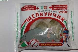 Щелкунчик - тесто Сыр+Арахис от крыс и мышей 250 г оригинал title=