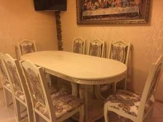 Срочно!!! Новый кухонный стол в сборе со стульями. title=
