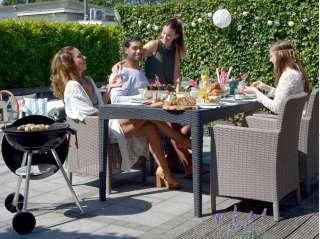 Столы Allibert Голландия для дома, кафе и бару.  title=