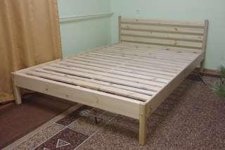 Дерев'яне ліжко title=