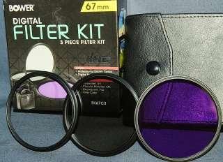 Светофильтры Bower filter kit digital 67 mm