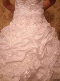 Красивое свадебное платье. Срочно! title=