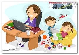 Работа на дому для студентов, мамочек в декрете от 5000 грн title=