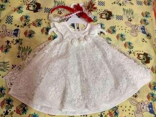 Платье для принцессы 0-3 мес.  title=