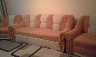 """М""""ягкий диван і 2 розкладних крісла title="""