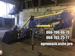 Быстросъёмный фронтальный погрузчик на трактор МТЗ, ЮМЗ, Т-40 title=