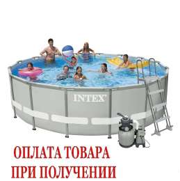 Каркасный бассейн Intex 28329. Ultra Frame Pool - 488 x 122 см title=