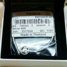 Скидки! Оригинал Pandora Пандора браслет основа Весна арт. 590744CZ