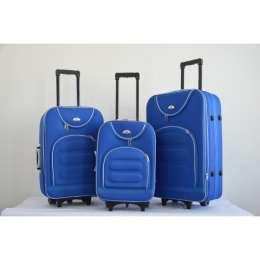 Чемодан сумка Bonro набор 3 штуки  Цвет: sky blue title=