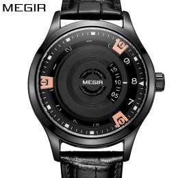 Продам новые кварцевые мужские часы фирмы Megir. title=