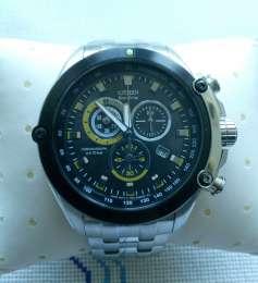 Продам новые часы ОРИГИНАЛ! CHRONOGRAPH CITIZEN ECO DRIVE title=