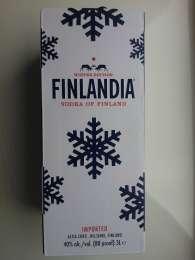 Водка Finlandia 3л Winter Edition title=