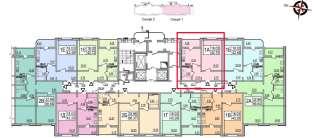 Продам 1-ком квартиру ЖК Патриотика «Кодацька фортеця» дом №19